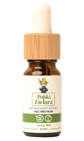 OLEJEK CBD 10% Polski Zielarz