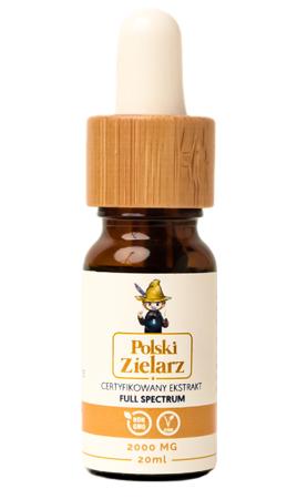 OLEJEK CBD 20% Polski Zielarz