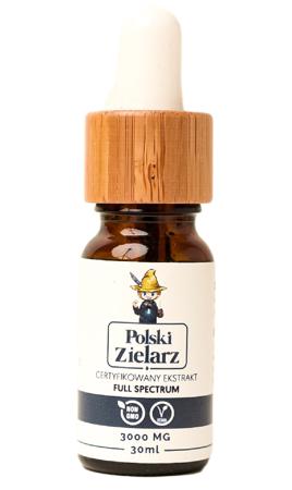 OLEJEK CBD 30% Polski Zielarz